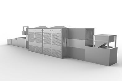 保温板微波烘干设备